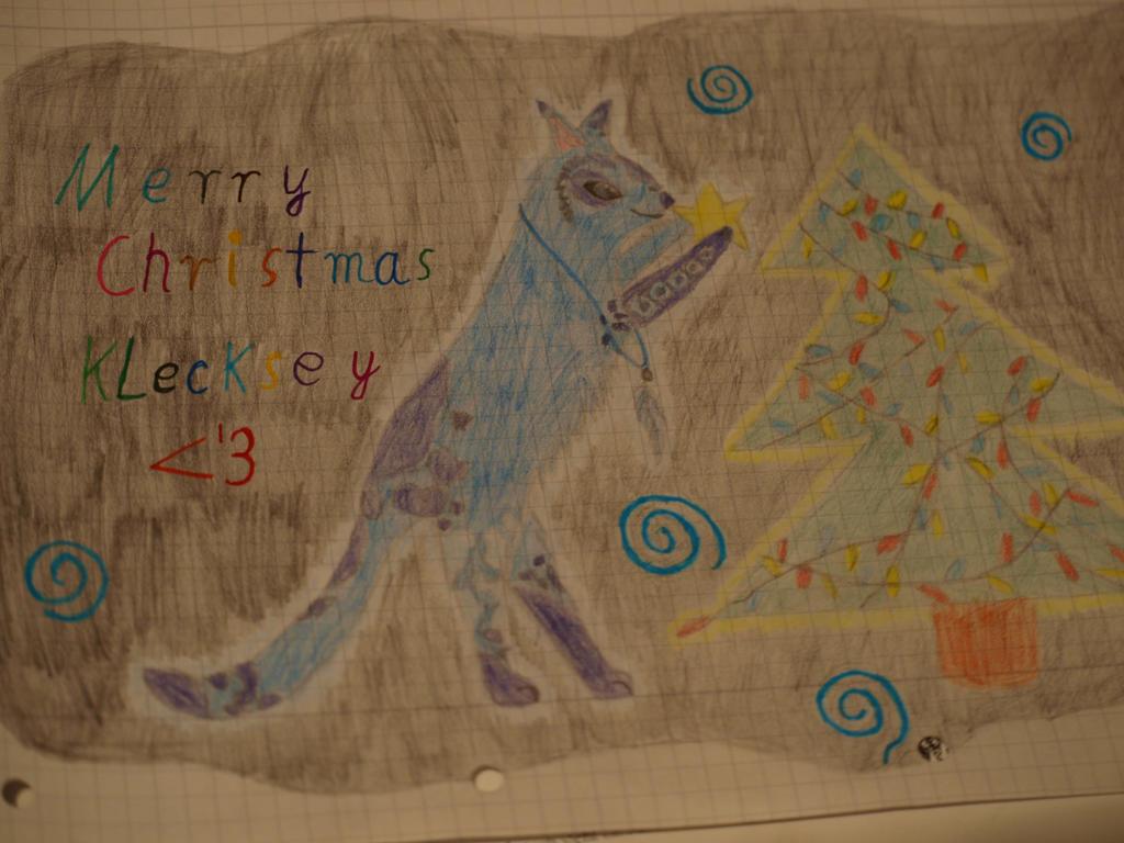 Weihnachtsgeschenk Klecksfell :B by oOFrosteehOo