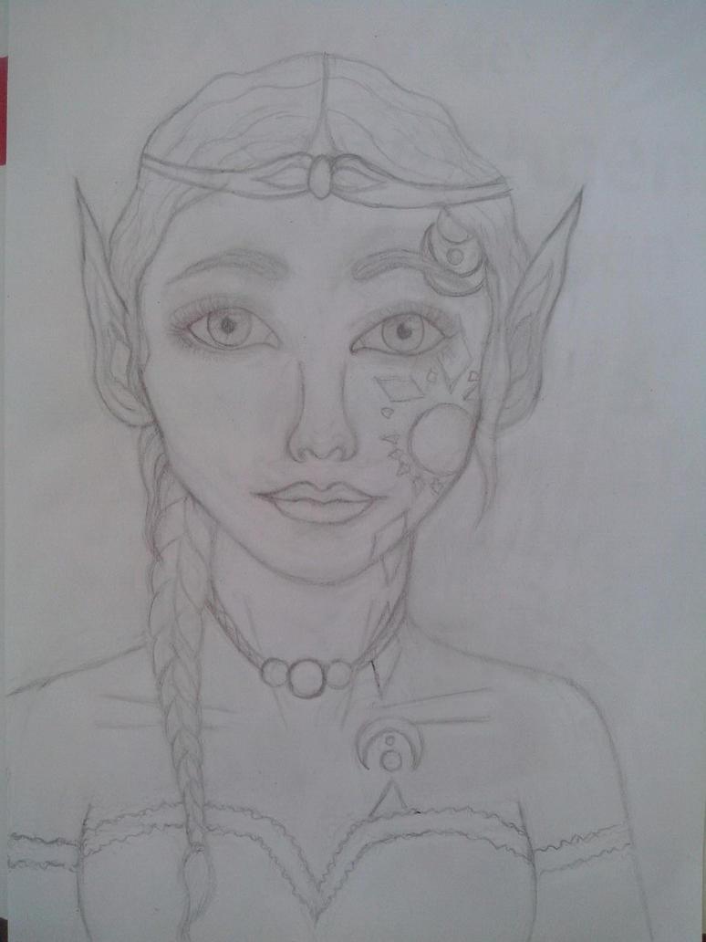 Mayalie - Portrait by oOFrosteehOo