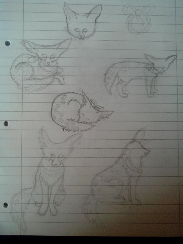 Sketchdump by oOFrosteehOo