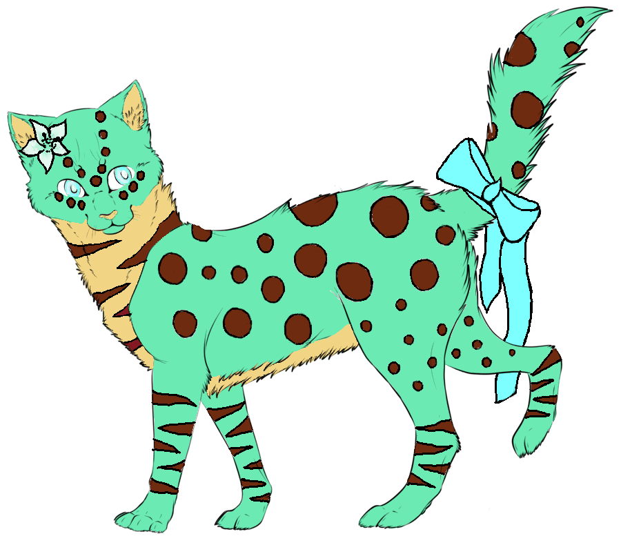 Lily-Cat Adopt| Open - lower price! by oOFrosteehOo