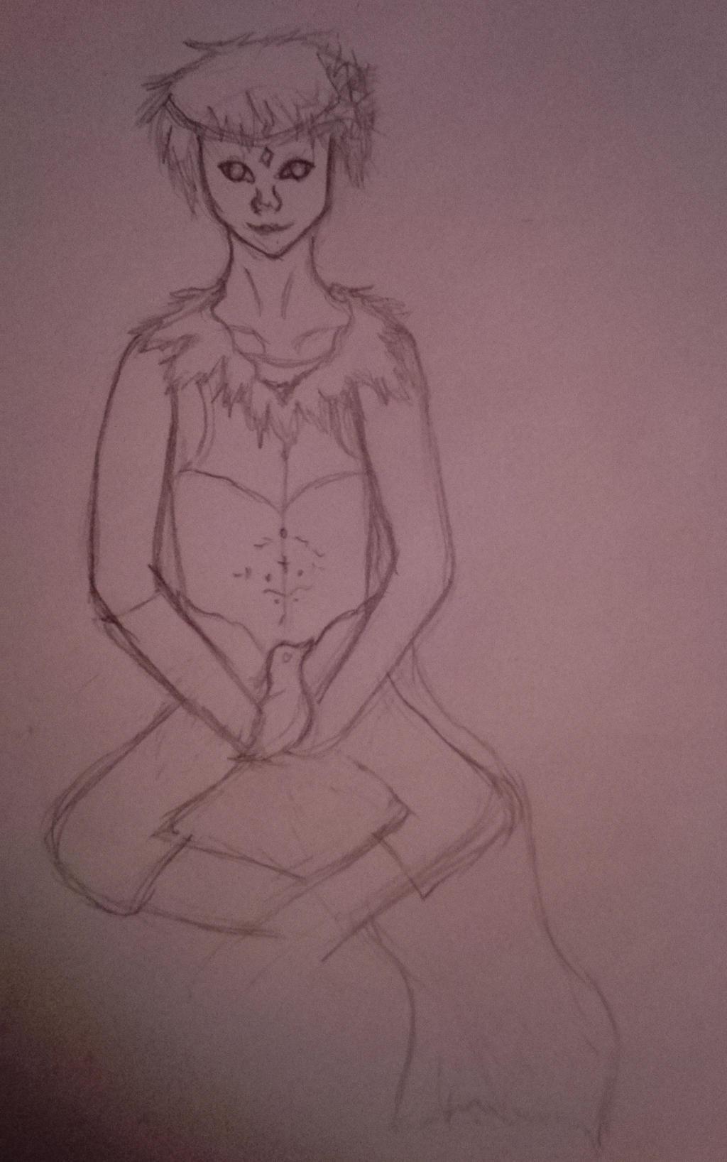 Sketch AT Pariah by oOFrosteehOo