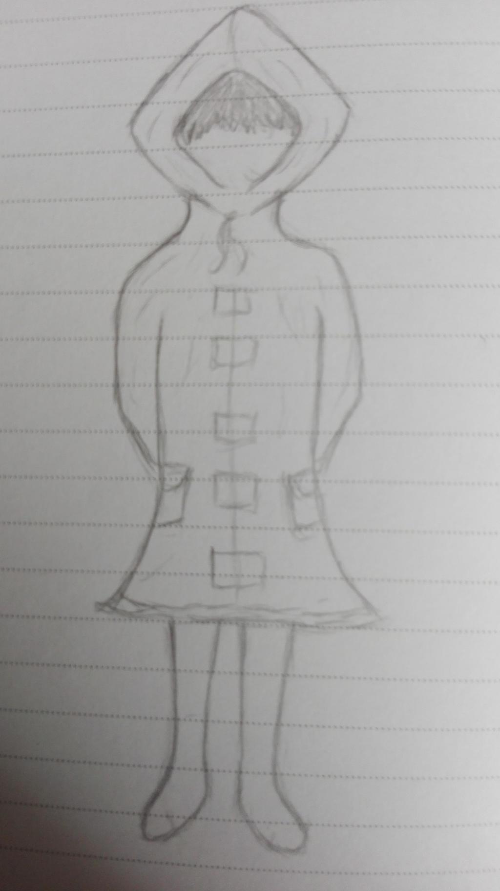 Little Nightmares Sketch by oOFrosteehOo
