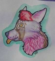 Blep Doggo by FrostetSpots
