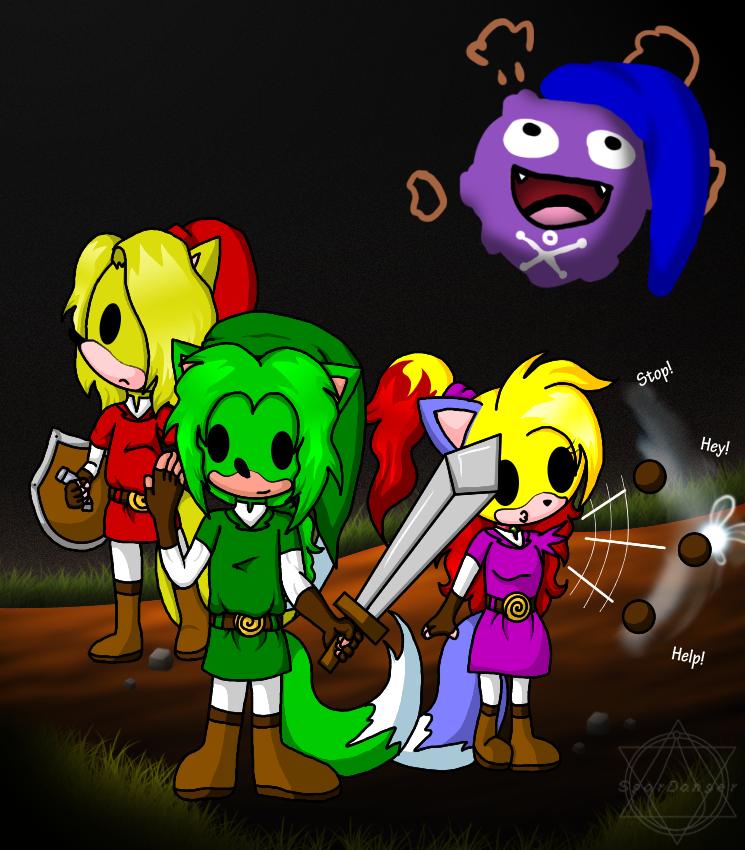 Zelda & Poke'mon both (C) Nintendo.