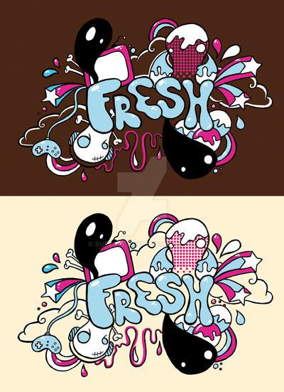 Fresh Tshirt by SuperFex