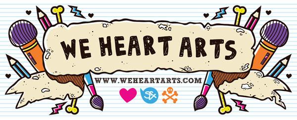 We Heart Arts Banner