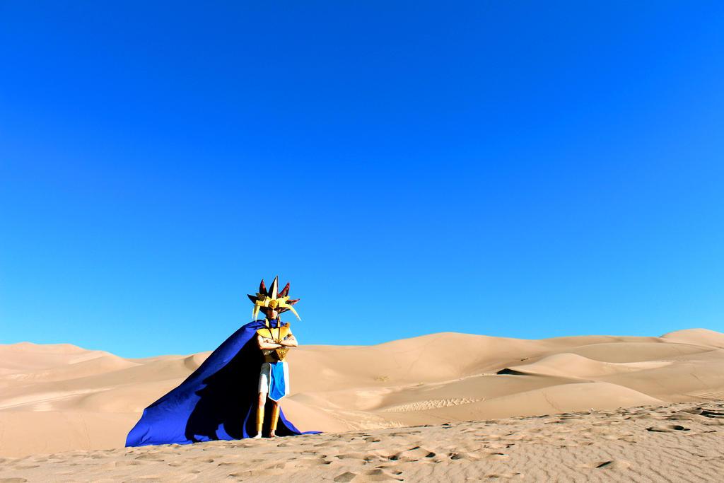 Like the deserts miss the rain: Atem (Yu-Gi-Oh!) by Pharaohmones