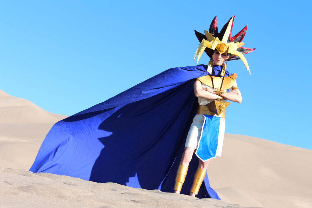 Memories of the Duel King - Atem from Yu-Gi-Oh! by Pharaohmones