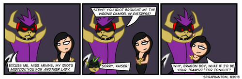 AaT: Cross-Strips - Wrong Damsel by SpiraPhantom
