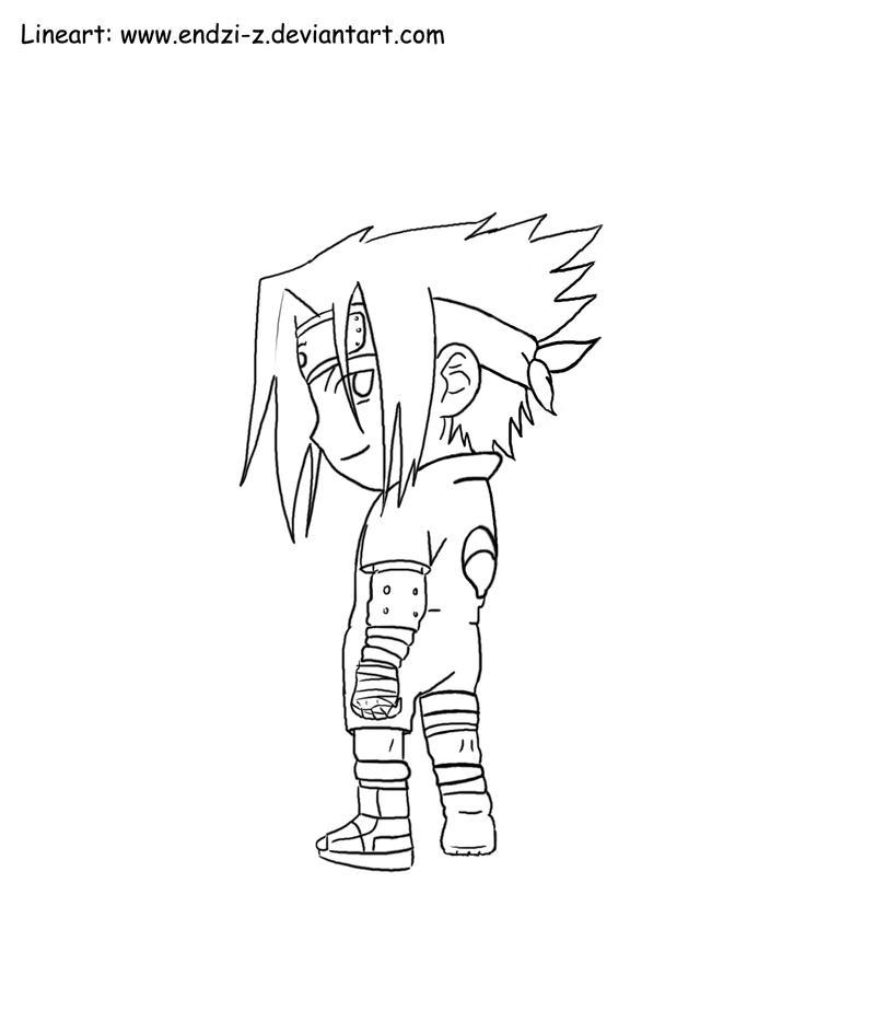Sasuke chibi by endzi z on deviantart for Chibi naruto coloring pages