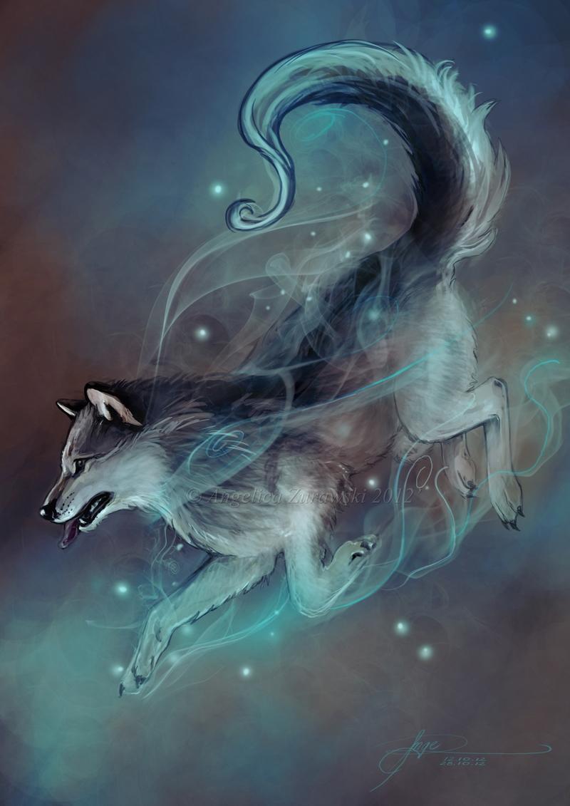 Magic Wolf By Endzi Z