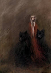 The lady of the black wolves forest