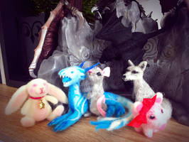 Felted figurines all for Sale