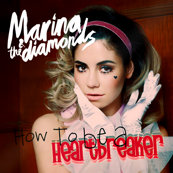 How To Be A Heartbreaker CD Cover by ErinneJones on DeviantArt