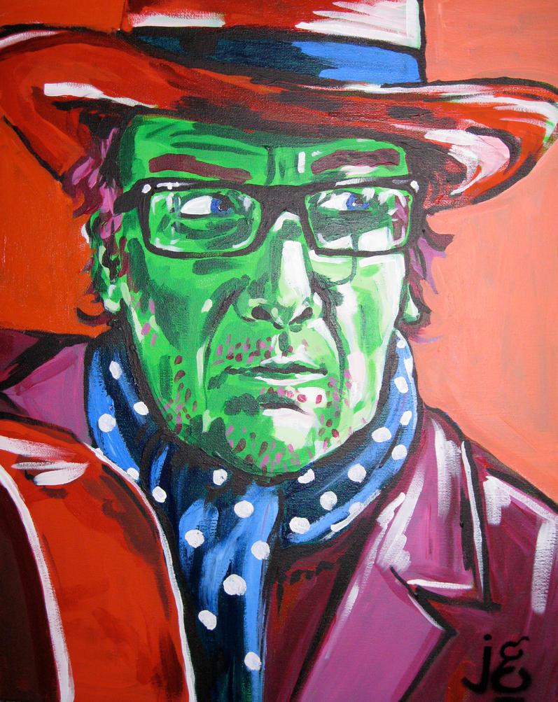 Elvis Costello by JessamyGee
