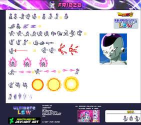 Freezer 4 Form Sprite Sheet ULSW by Nightmarex07