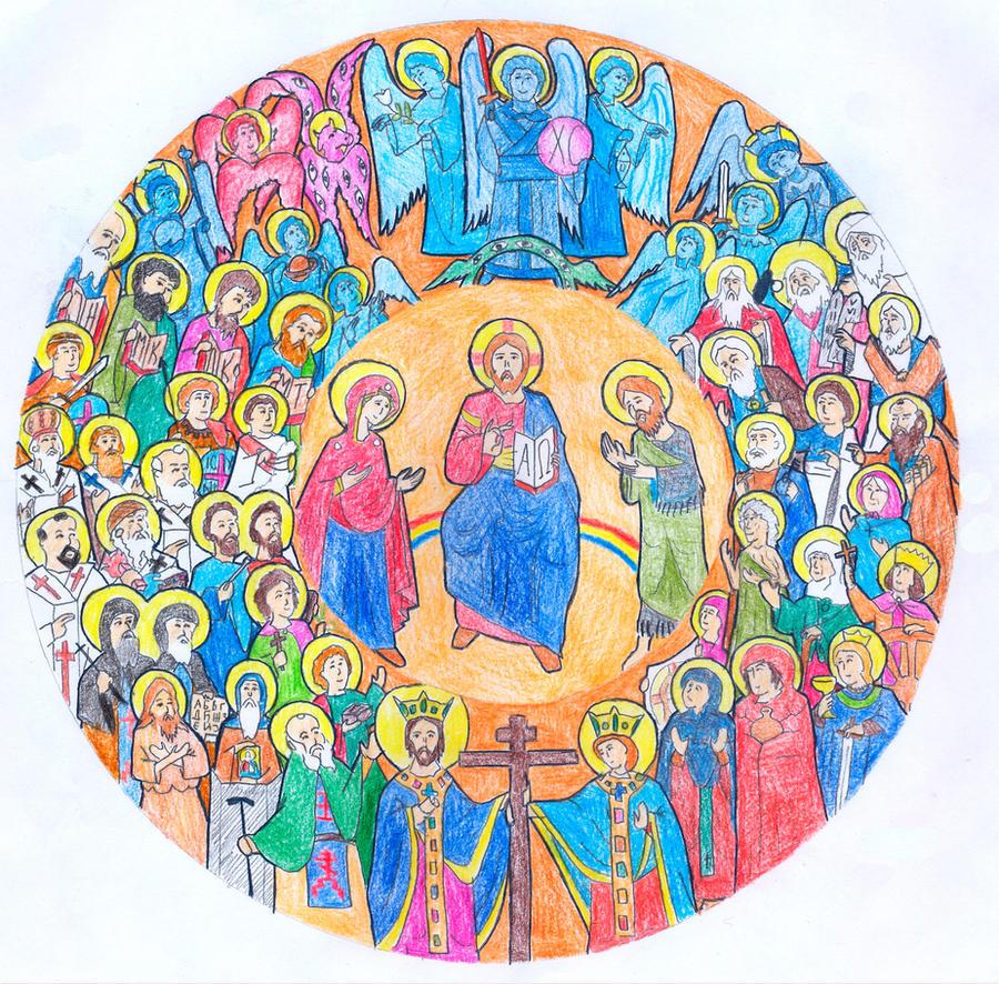 All Saints by Parastos