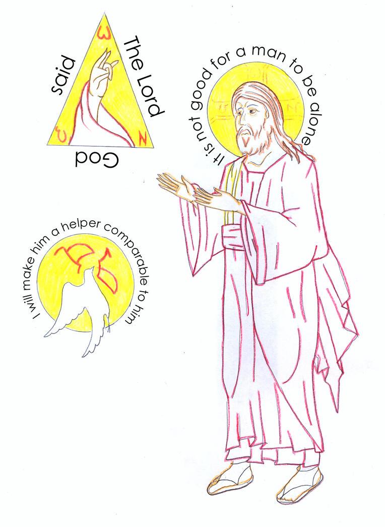 Genesis 2:18 by Parastos