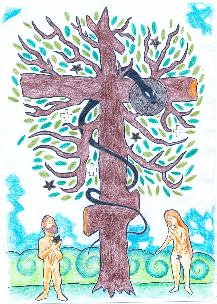 Genesis 3:6 by Parastos