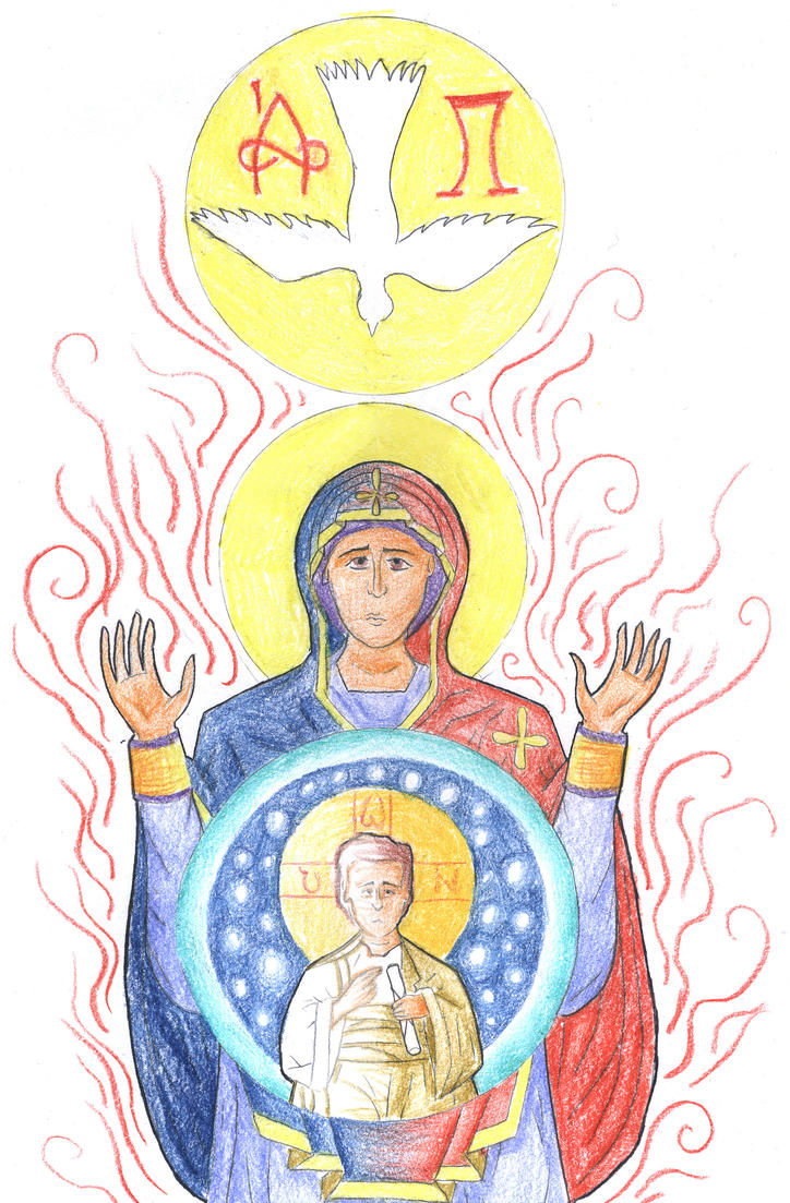 Luke 1:34 (Fiat / Word Made Flesh) by Parastos