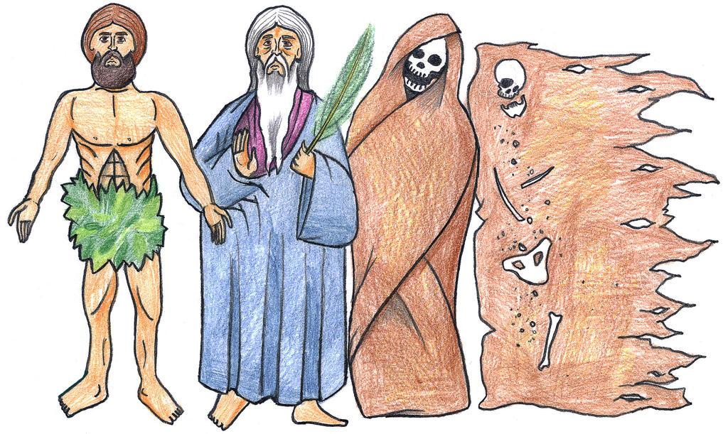 Genesis 3:19 (Dust to Dust) by Parastos