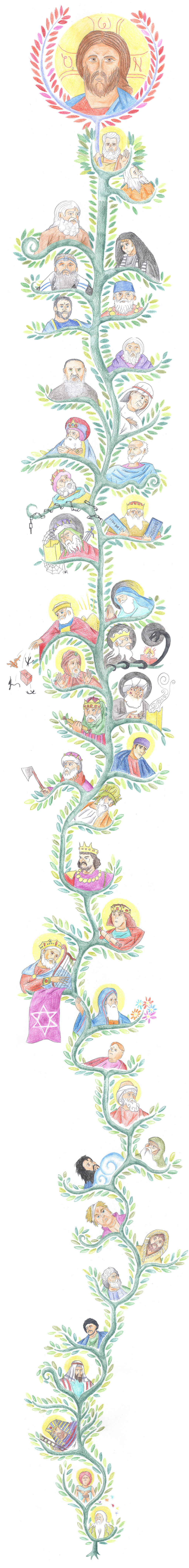 Matthew 1 - Genealogy of Christ (Tree of Jesse) by Parastos