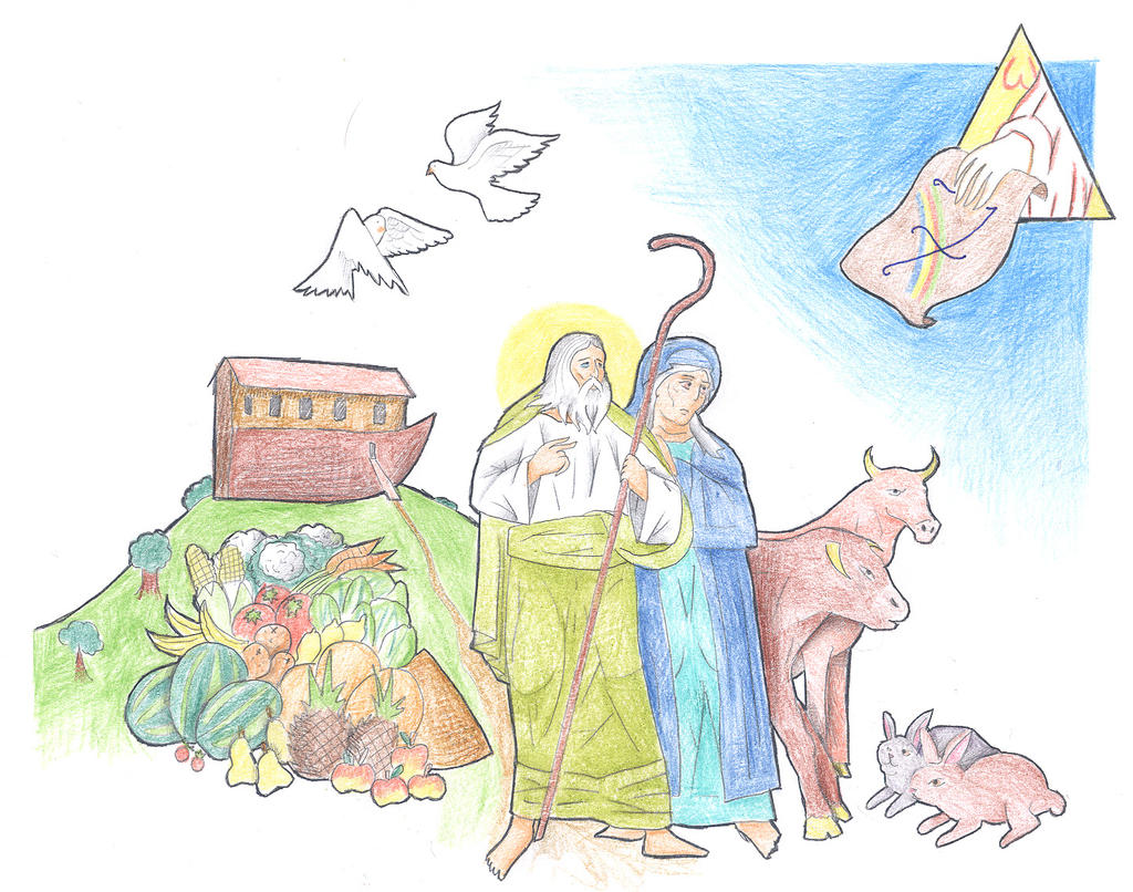 Genesis 6:18-22 (Covenant with Noah) by Parastos