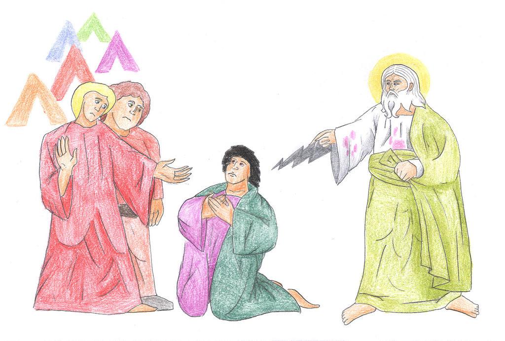 Genesis 9:24-27 (The Curse of Ham) by Parastos