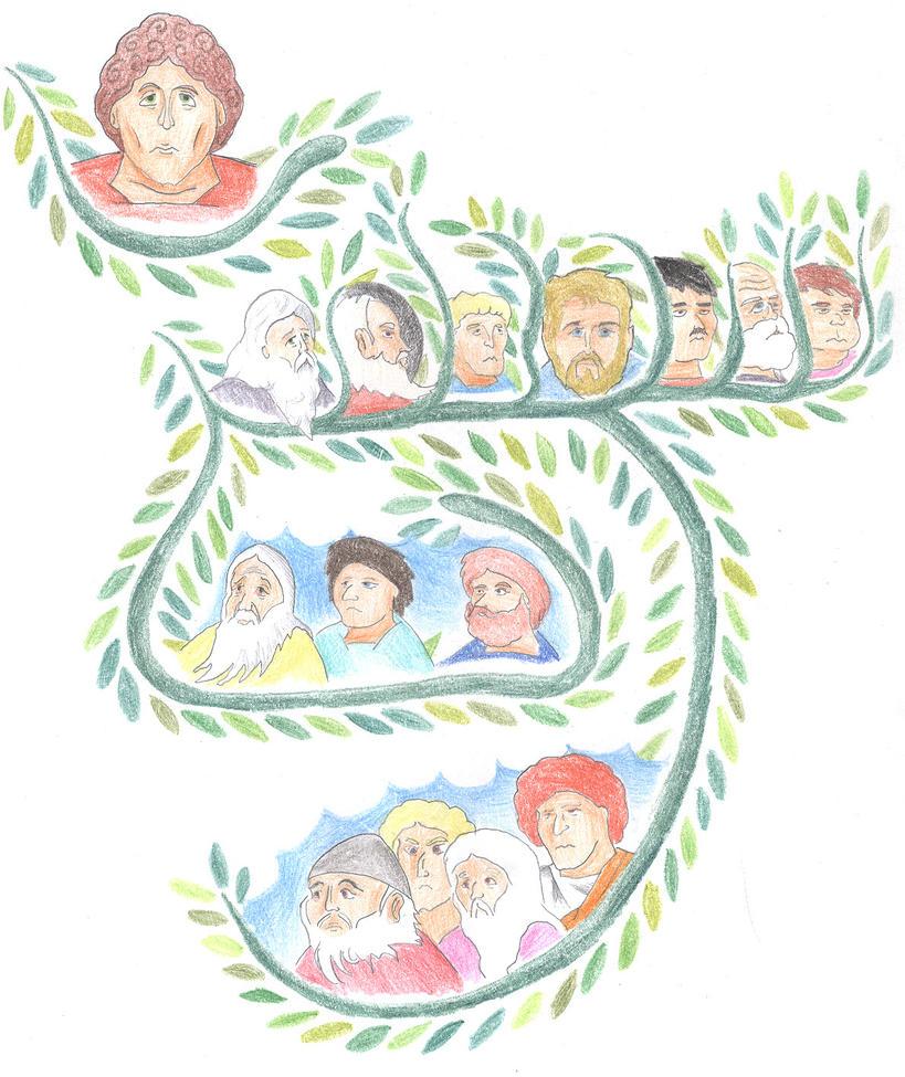 Genesis 10:1-5 (Genealogy of Japheth) by Parastos