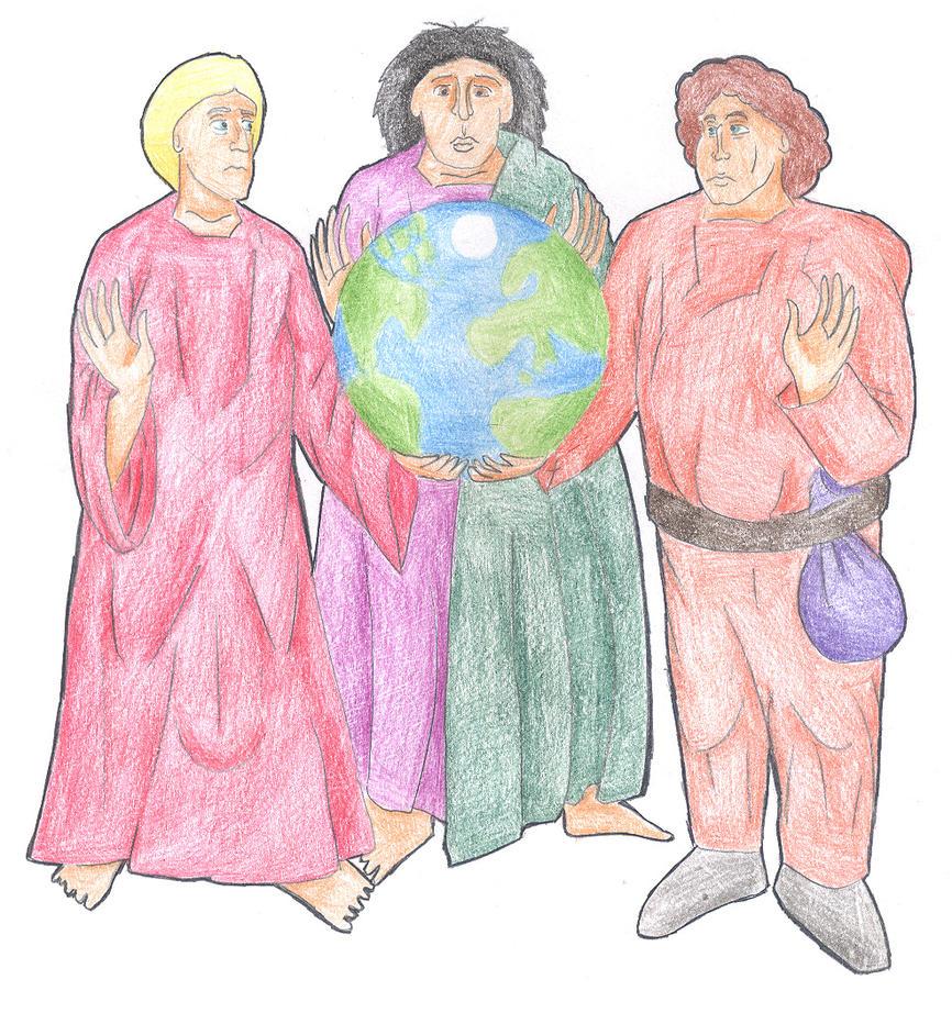 Genesis 9:18-19 (The Sons of Noah) by Parastos