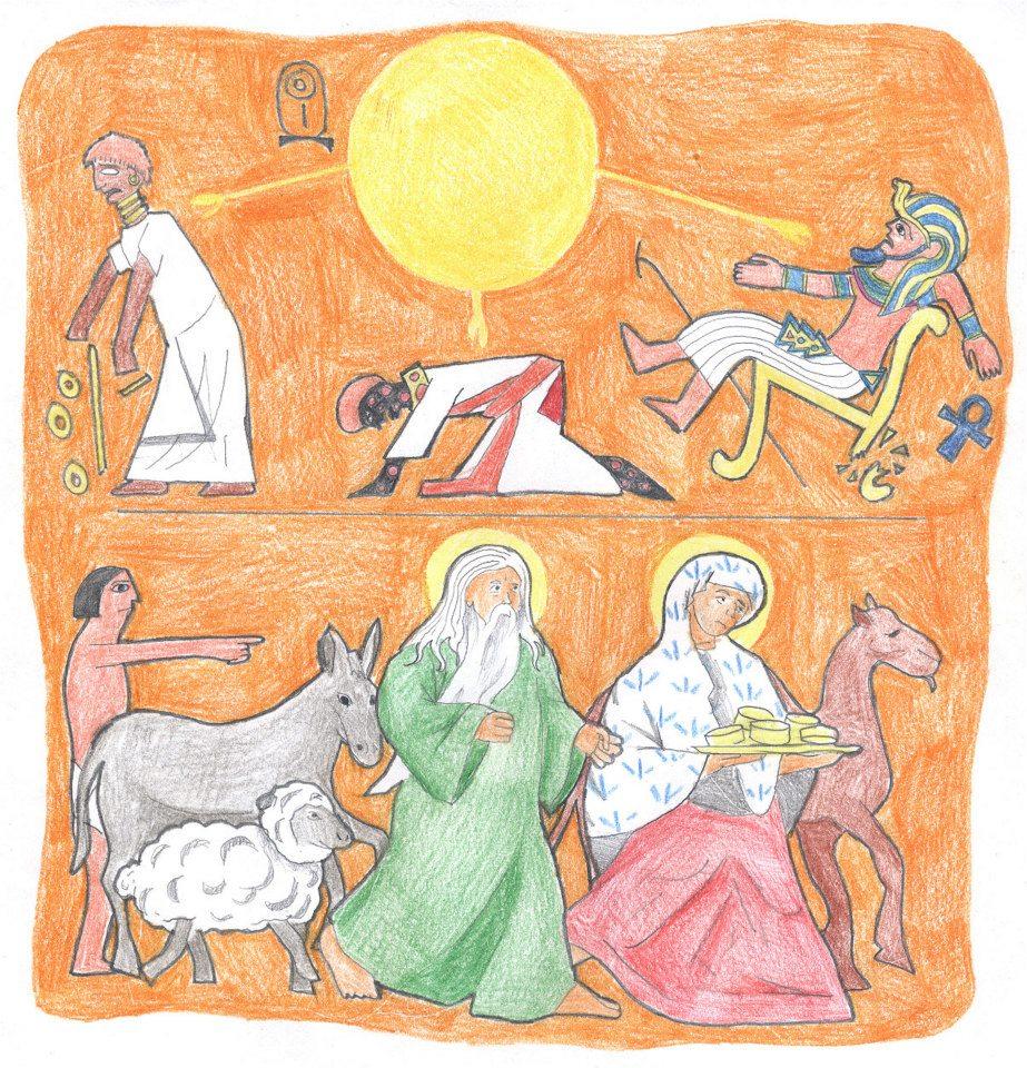 Genesis 12:16-20 by Parastos