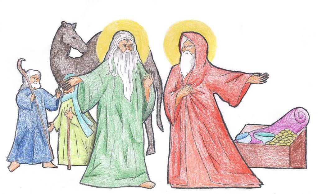 Genesis 13:6-9 by Parastos