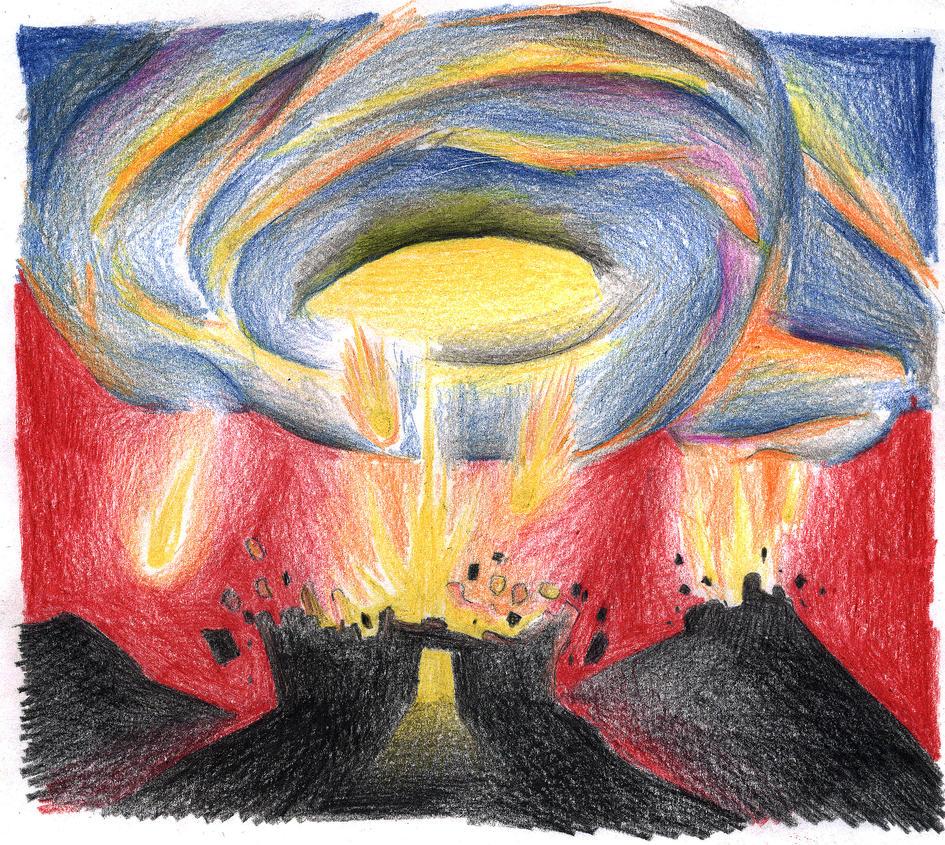 Genesis 19:23-25 (Sodom and Gomorrah Destroyed) by Parastos