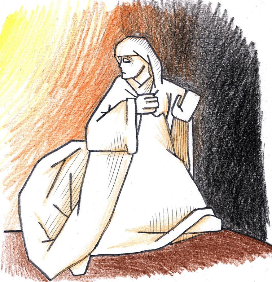 Genesis 19:26 (Lot's Wife) by Parastos