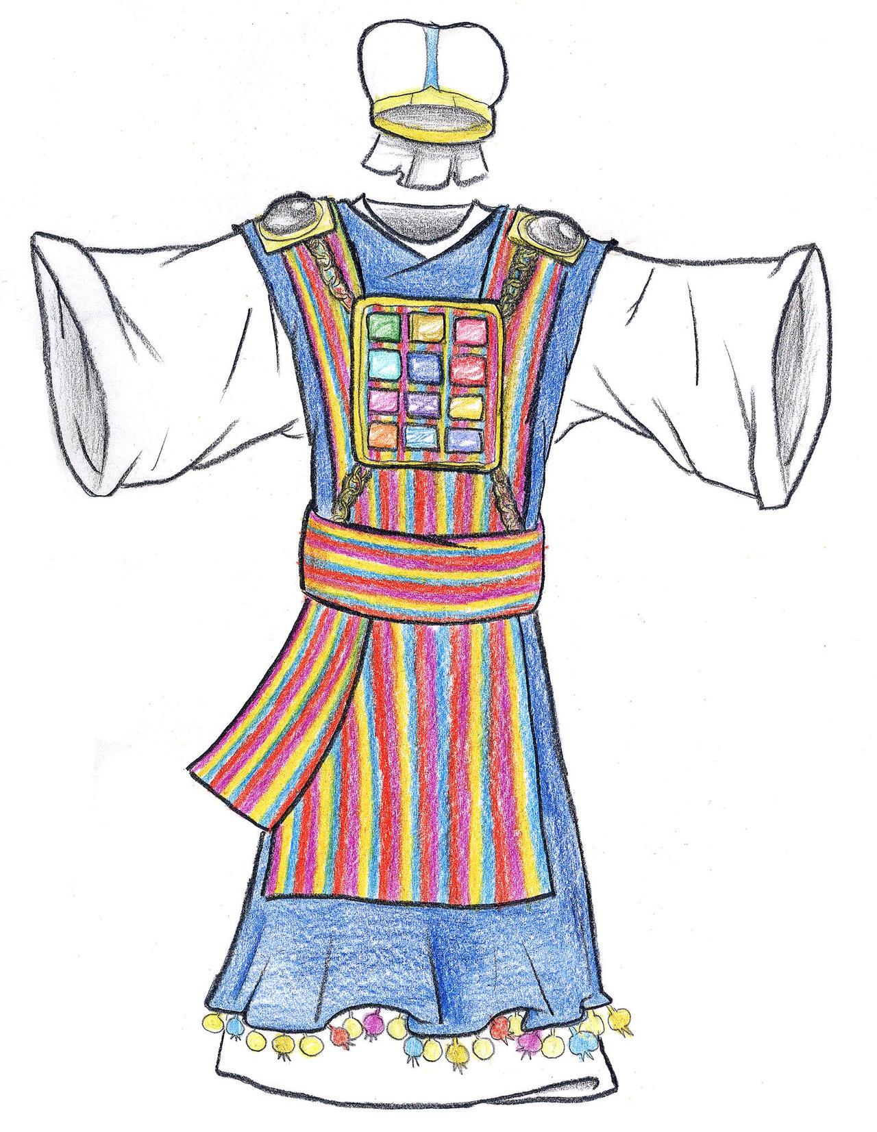 Exodus 28:4-38 (High Priest's Vestments) by Parastos