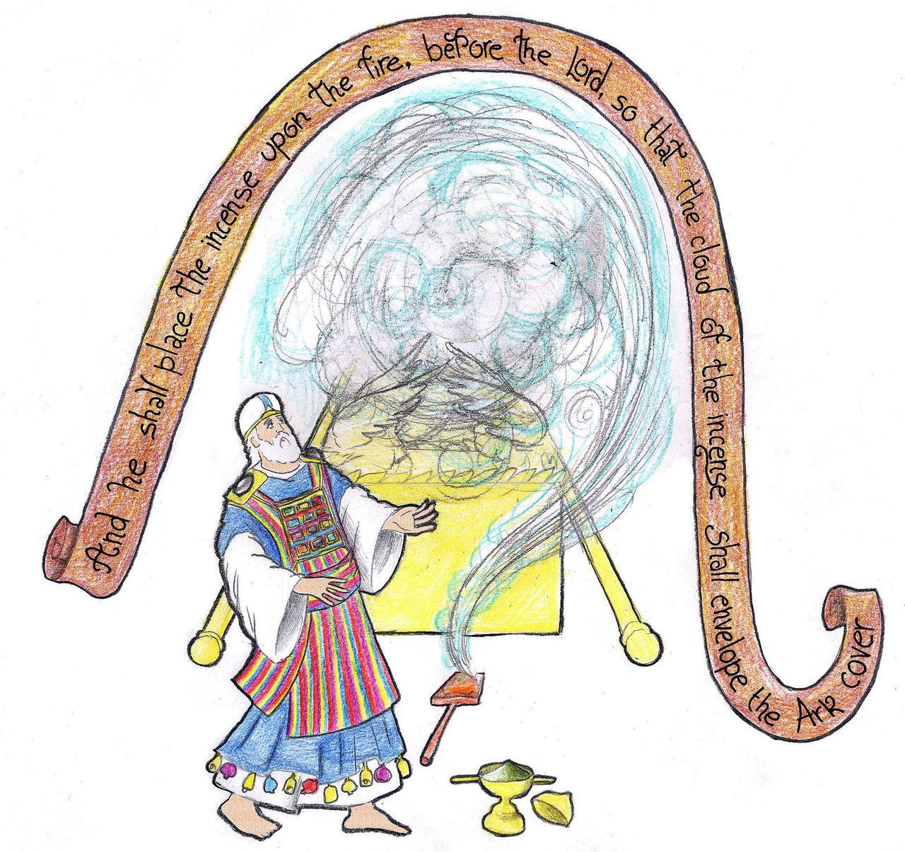 Leviticus 16:12-13 (The Incensation) by Parastos