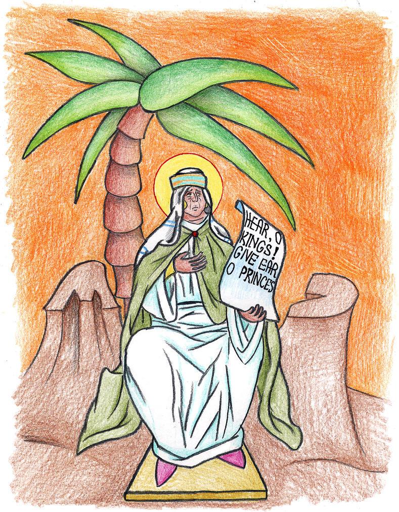 Judges 4:4-5 (Deborah) by Parastos