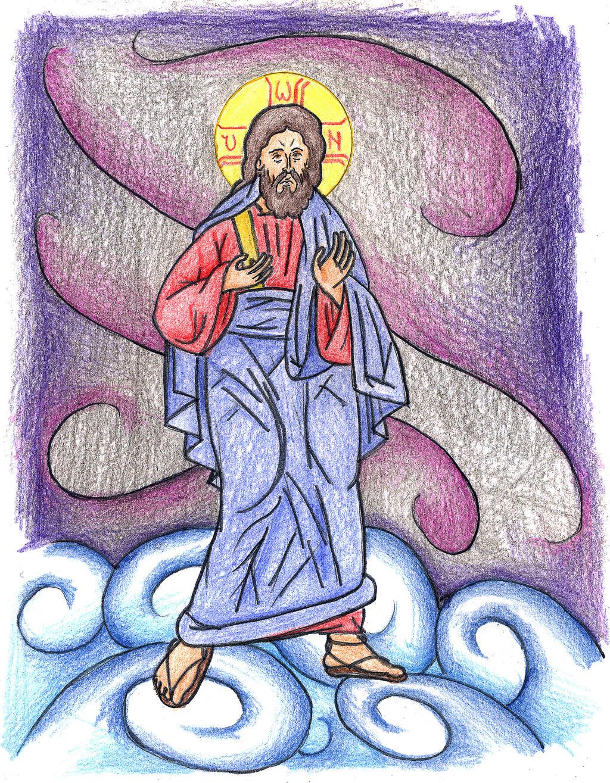 John 16:18-20 (Jesus Walks on Water) by Parastos