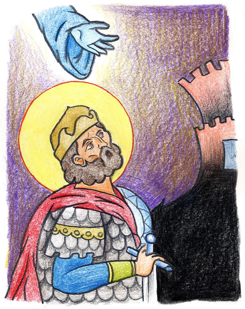 Joshua 6:1-2 by Parastos