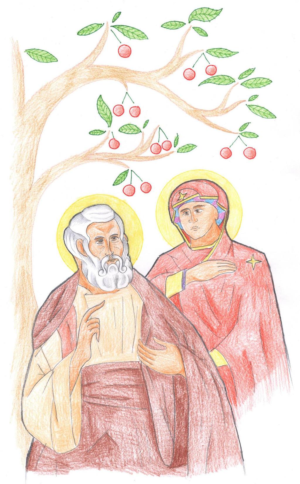 Matthew 1:18-19 by Parastos