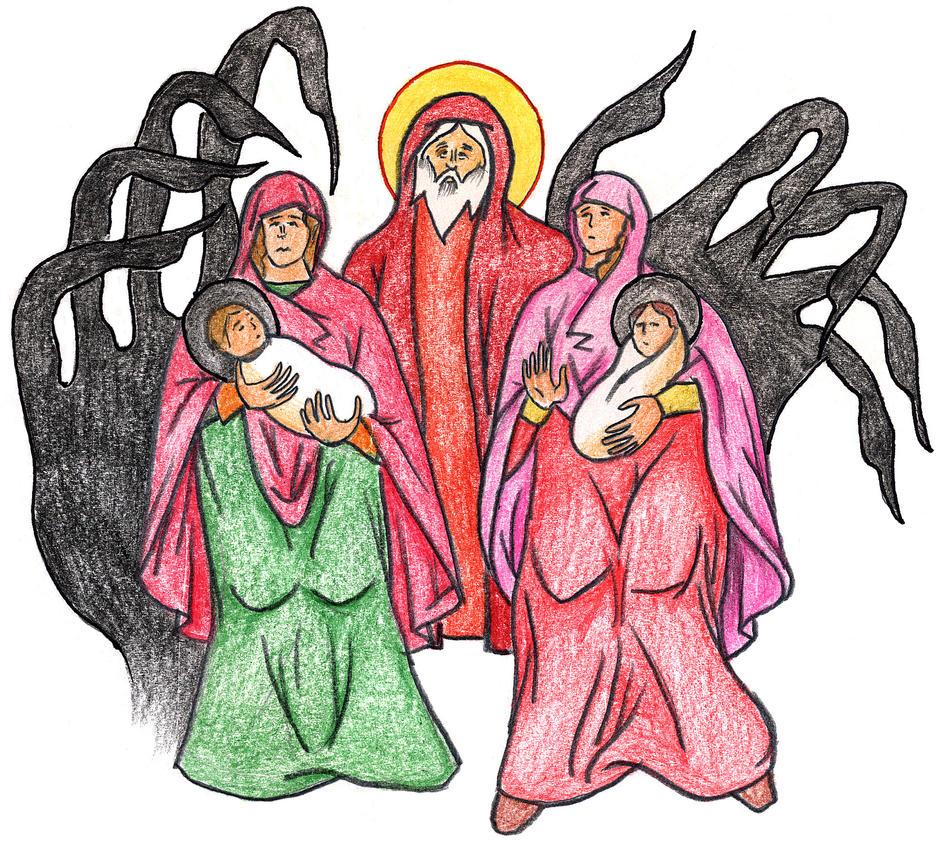 Genesis 19:36-38 by Parastos