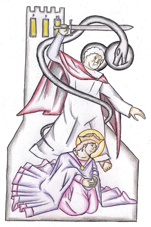 Matthew 10:21-22 by Parastos