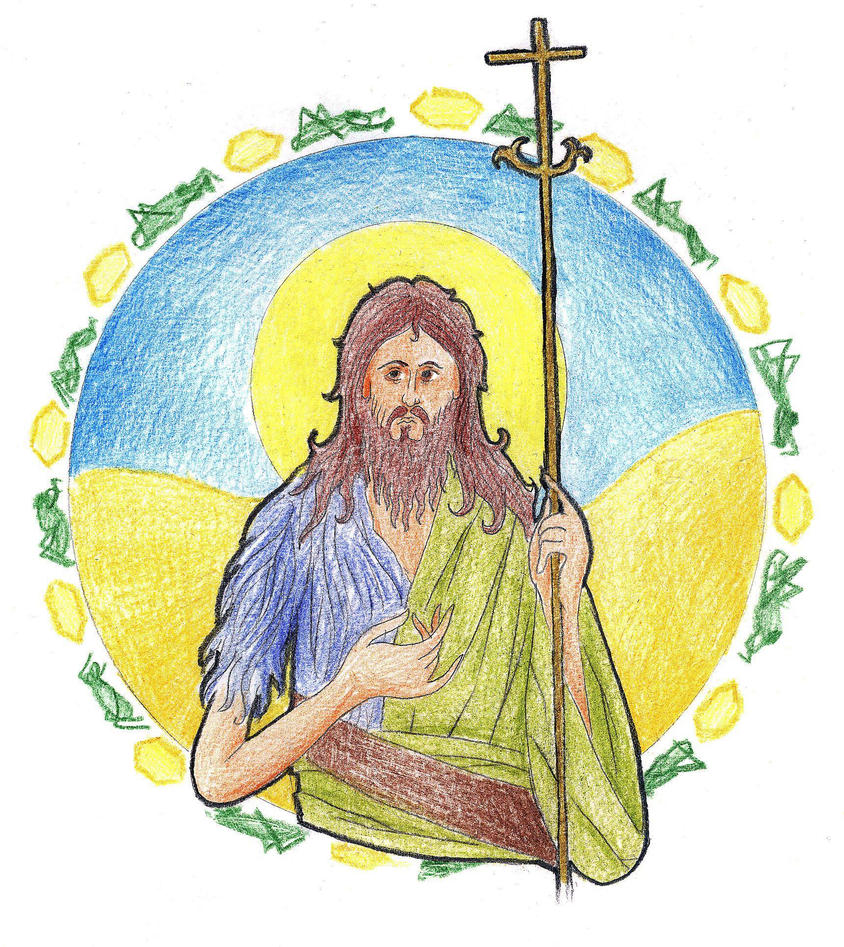 Mark 1:4-6 by Parastos