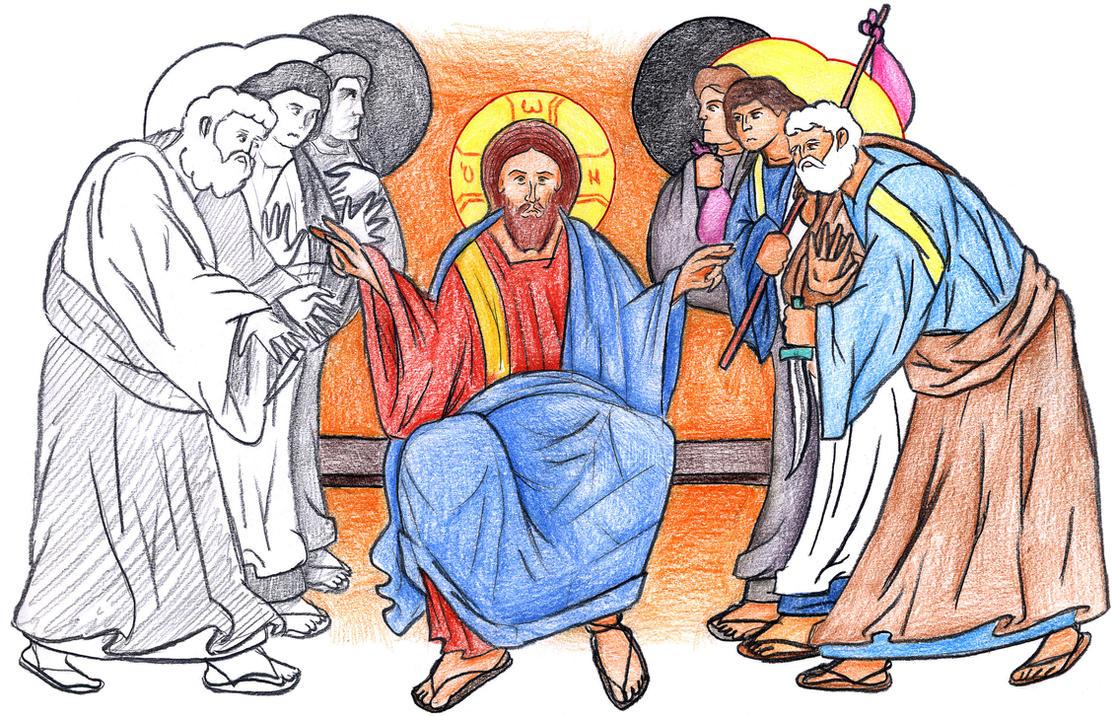 Luke 22:35-36 by Parastos