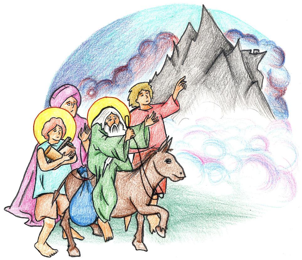 Genesis 22:3-5 by Parastos
