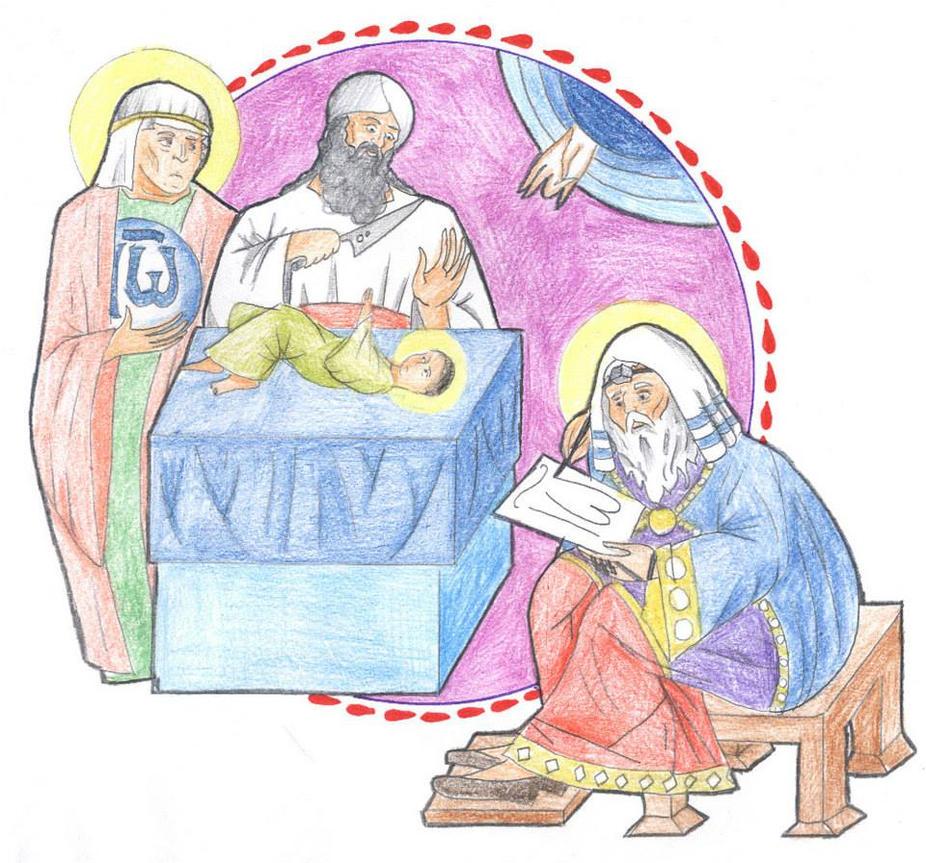 Luke 1:59-66 by Parastos
