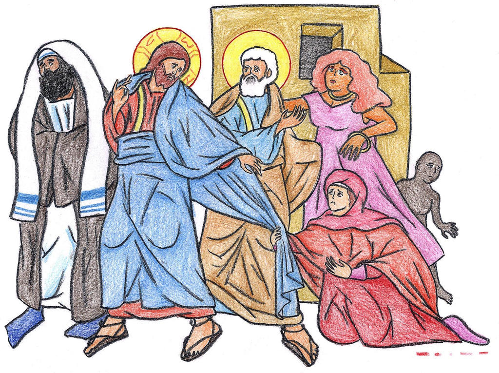 Luke 8:42-48 by Parastos