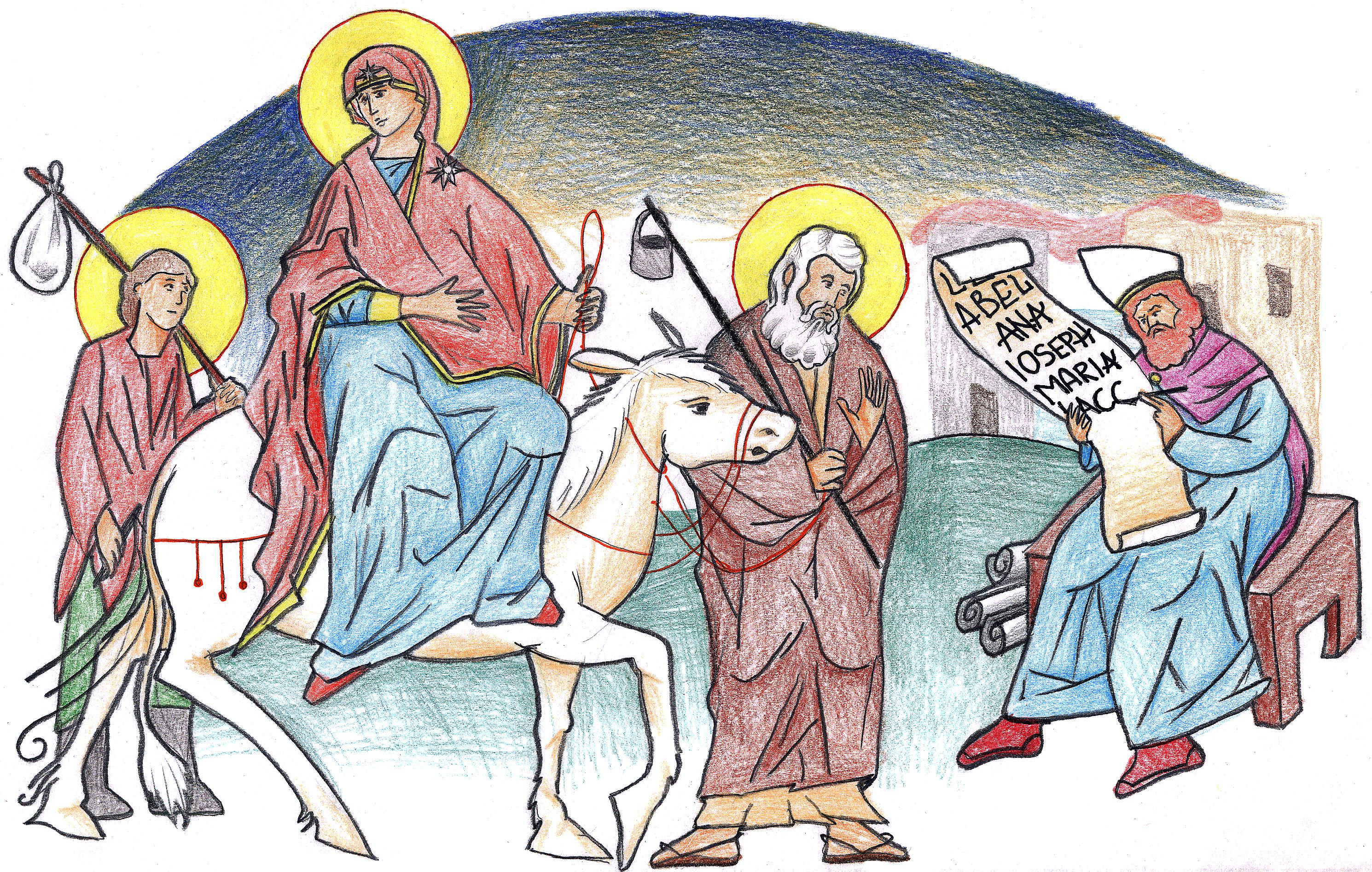 Luke 2:2-5 by Parastos