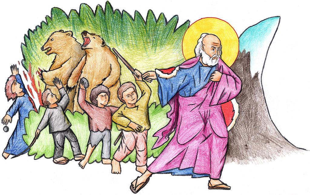 2 Kings 2:23-25 by Parastos