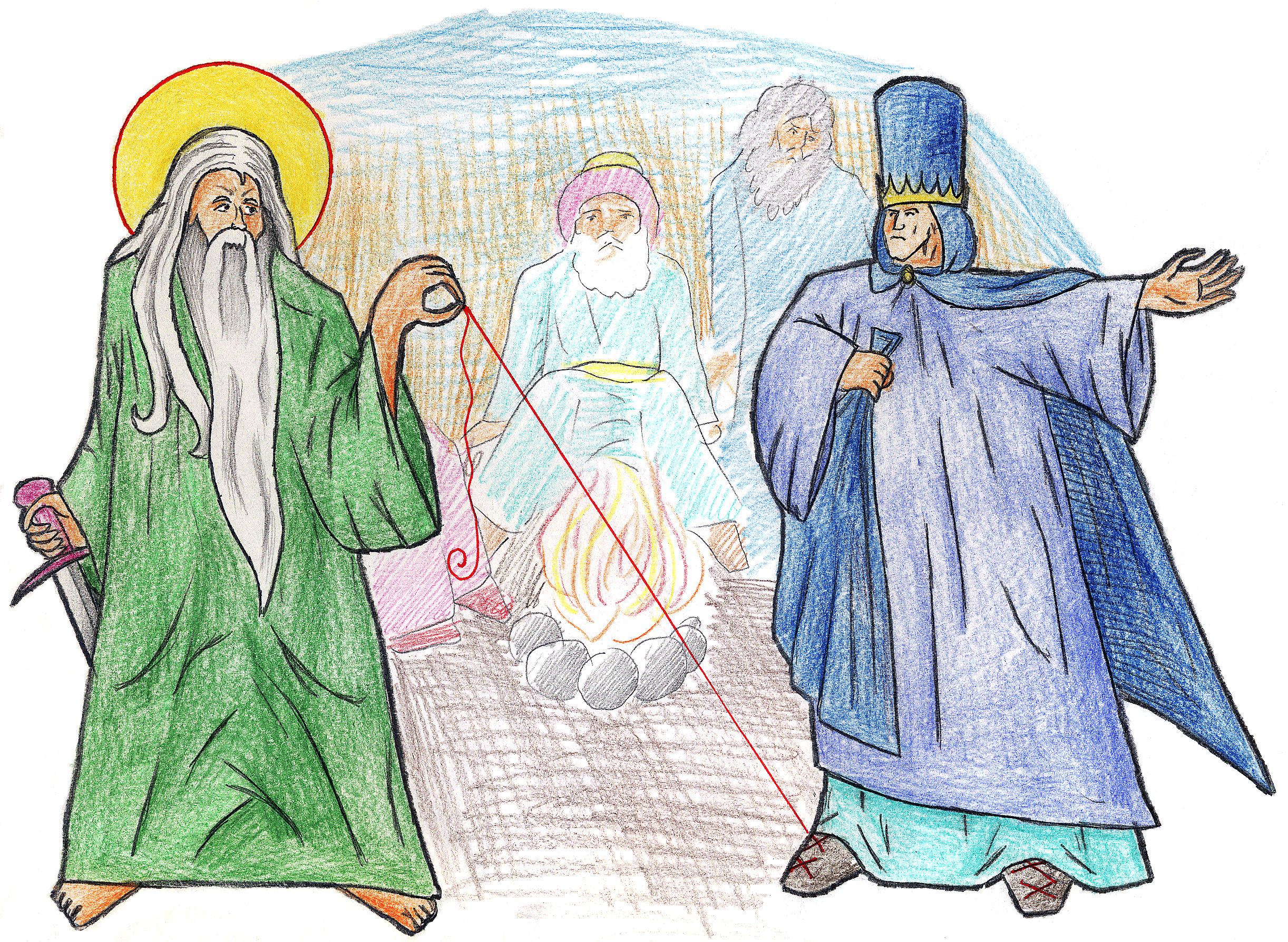 Genesis 14:21-24 by Parastos